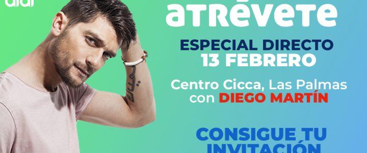 Diego Martín, artista confirmado para el directo de Las Palmas
