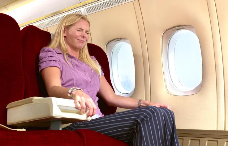 Remedios contra los mareos en aviones y viajes largos