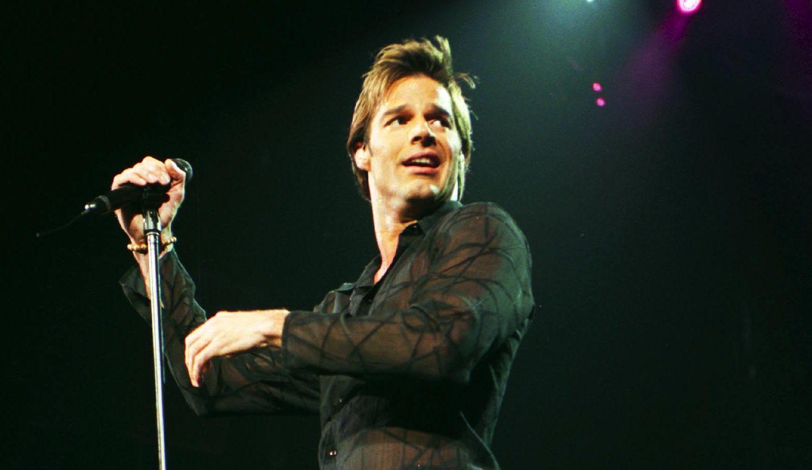ricky martin en concierto en 2000