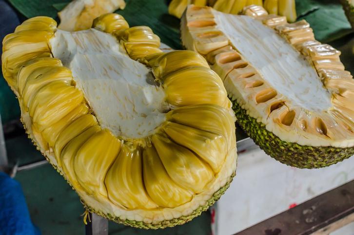fruta jackfruit comida alimento