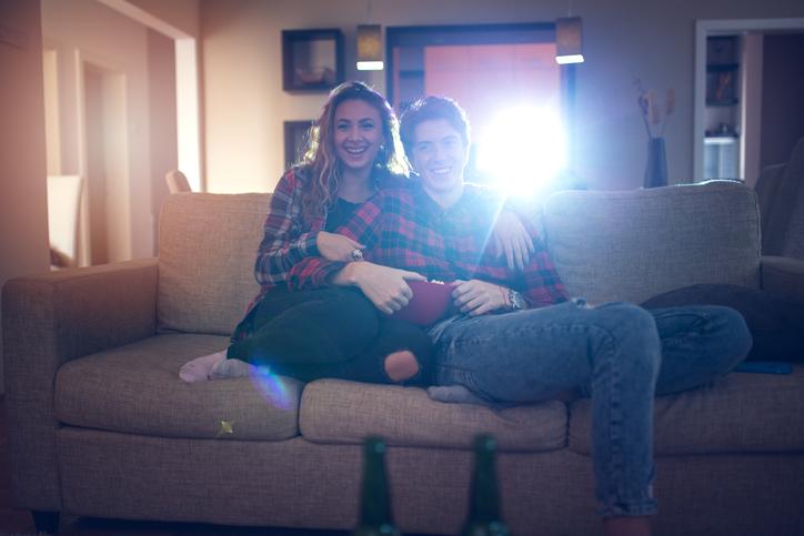 regalo pareja proyector