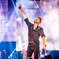 Manuel Carrasco en su gira Latinoamericana