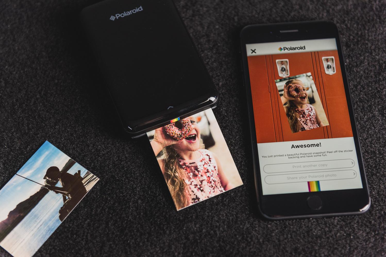 regalo impresora polaroid teléfono móvil