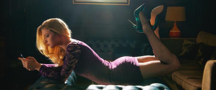 Mujer vestido ajustado - Getty Images