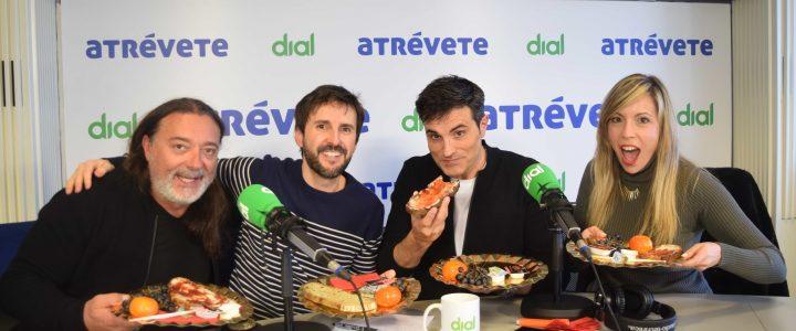 """Julián López visita Atrévete en el estreno de """"Justo Antes de Cristo"""""""