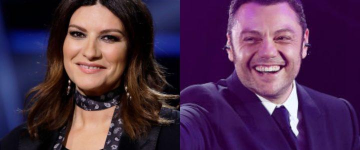 Laura Pausini y Tiziano Ferro