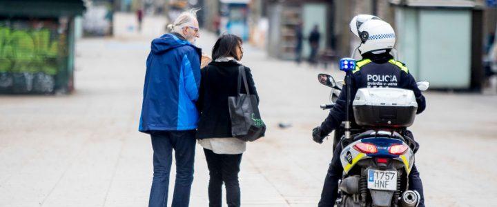 El aplaudido mensaje de ánimo de un policía asturiano
