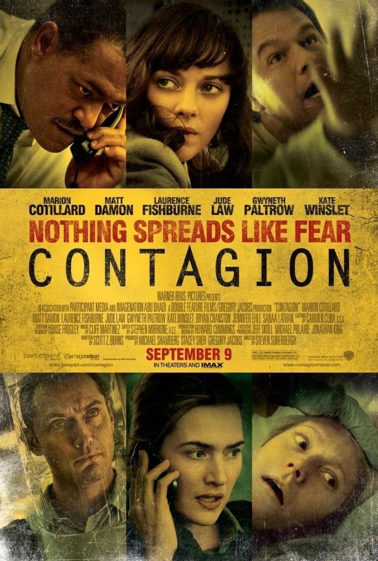 contagio pelicula poster