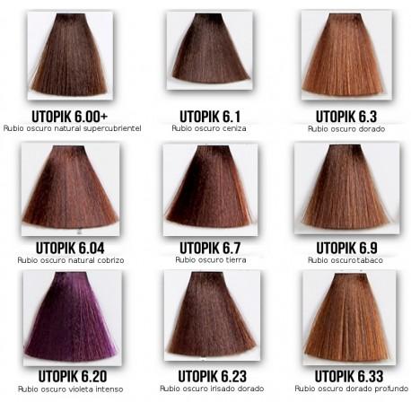 tinte pelo paleta