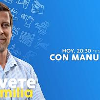 Manu Baqueiro será el nuevo invitado en los directos de Atrévete en familia