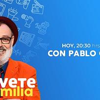Recibimos la visita de Pablo Carbonell en Atrévete en Familia, a partir de las 20:30H