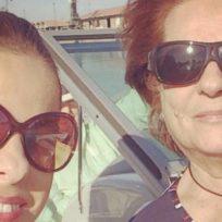 Pastora Soler y su madre.