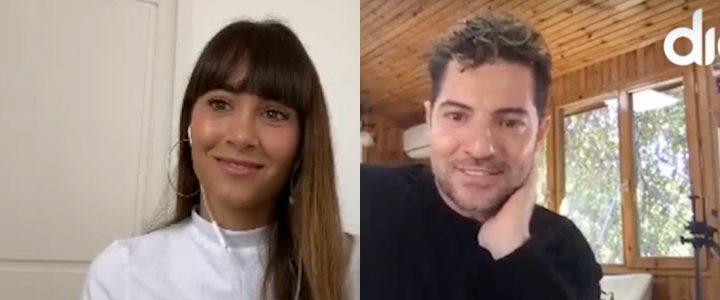 Aitana y David Bisbal