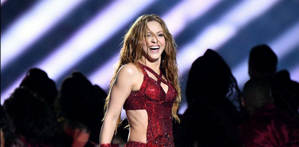 Shakira en el intermedio de la Super Bowl