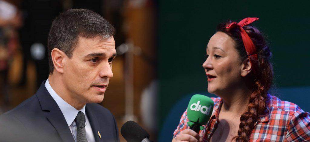 Eva y Qué y su parecido a Pedro Sánchez