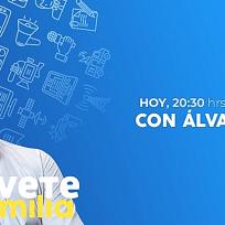 La visita de hoy de Atrévete en Familia es Álvaro Díaz, presentador de ¿Qué Falló En Lo Vuestro?