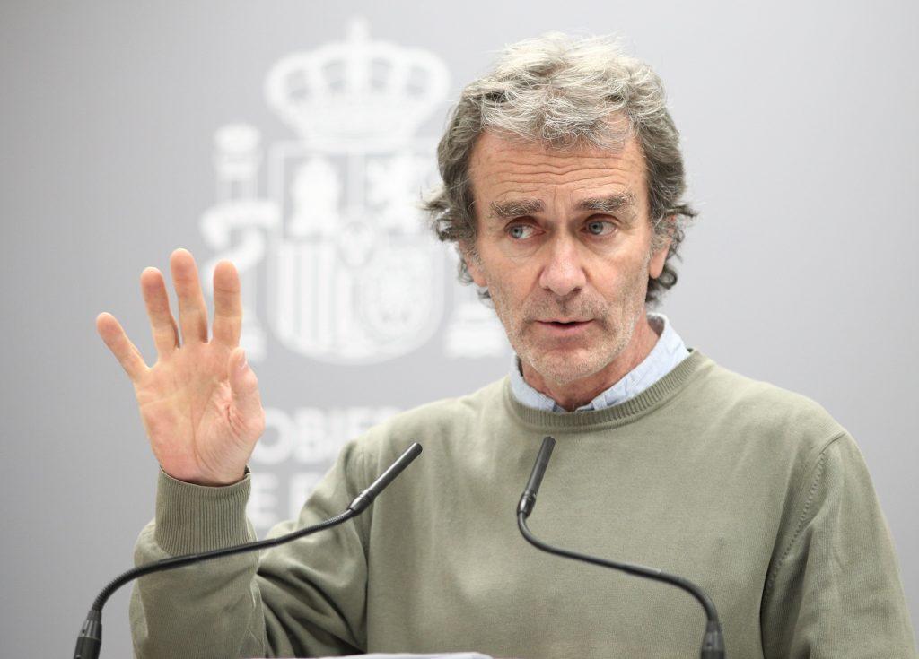 Nuestro Fernando Simón particular y su insistencia por respetar las distancias