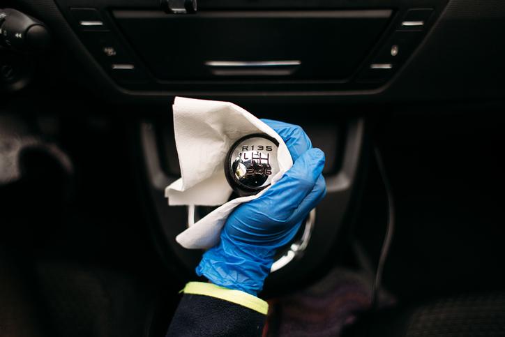 dgt coche palanca de cambios coronavirus