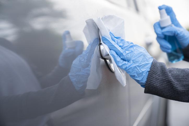 coche desinfectar coronavirus