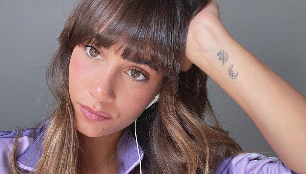La artista Aitana posa en redes sociales