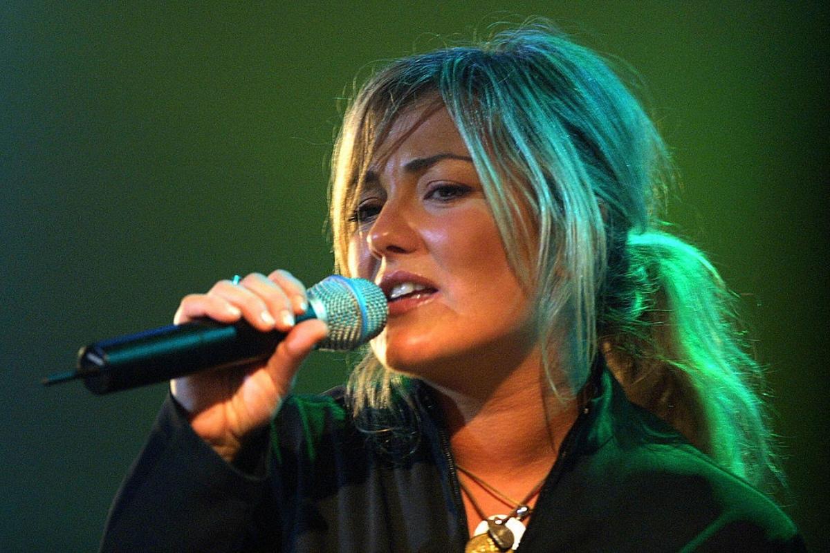 Spanish singer Amaia Montero of the grou