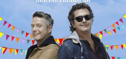 Alejandro Sanz y Carlos Vives ¡derriban los muros de sus casas para esta canción! For sale