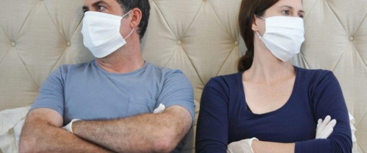 sexo coronavirus pareja cama contagio