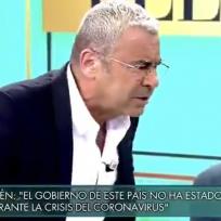 El monumental enfado de Jorge Javier contra Belén Estebán en su regreso a plató