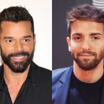Ricky Martin y Pablo Alborán