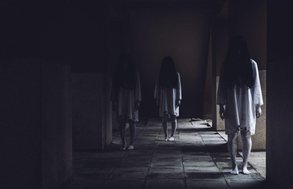 """""""Mi amigo no paraba de ver fantasmas alrededor"""""""