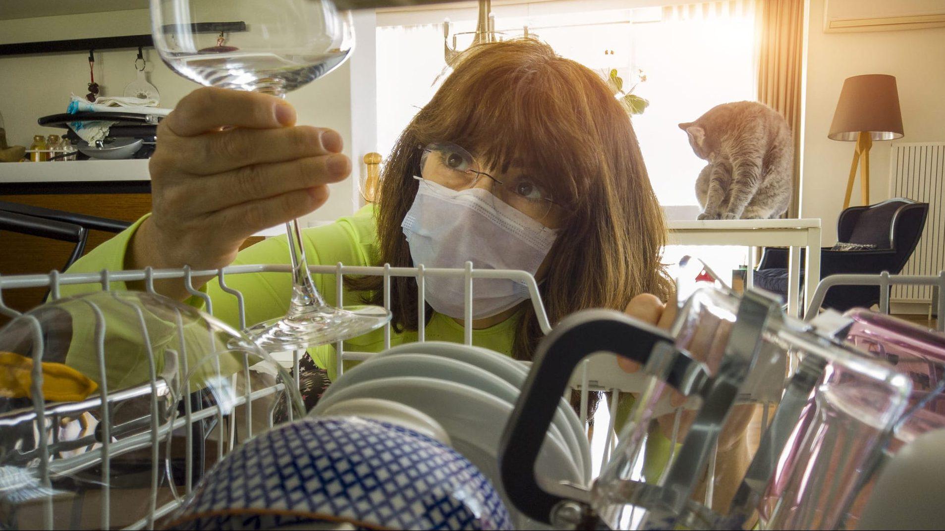 mascarilla valencia reutilizable coronavirus lavavajillas