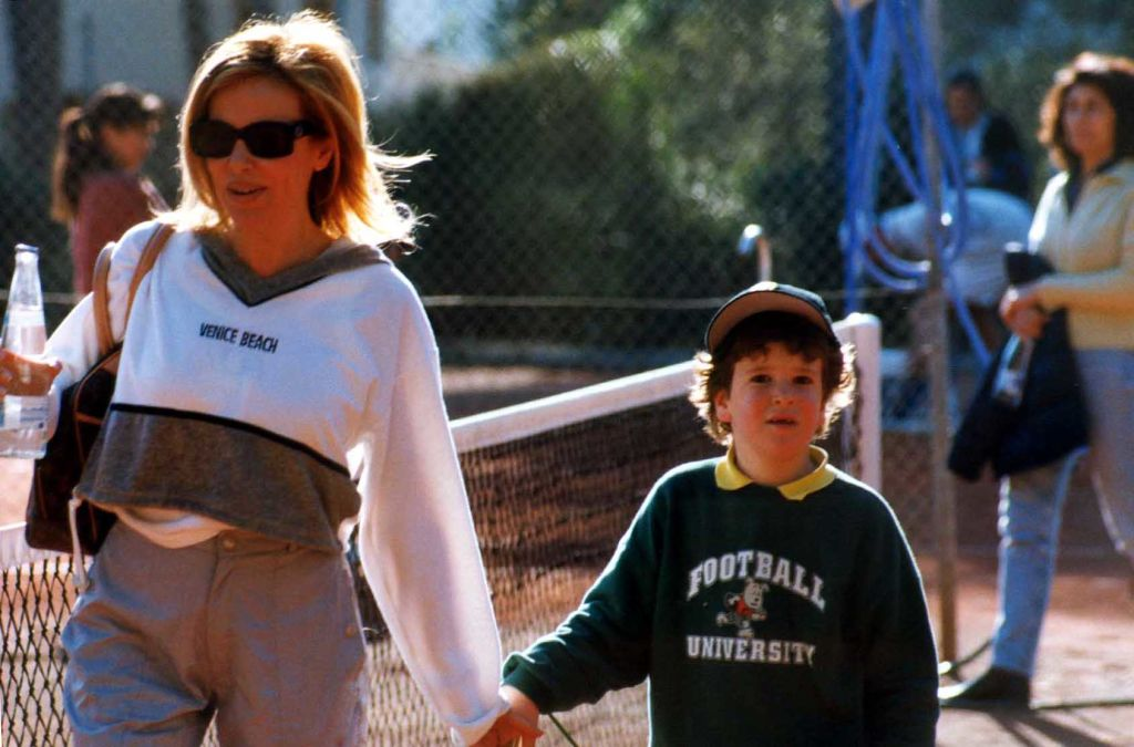 Ana Obregón junto a su hijo Aless
