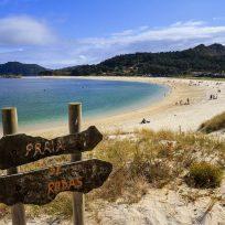 La playa de Rodas, considerada la mejor del mundo por The Guardian