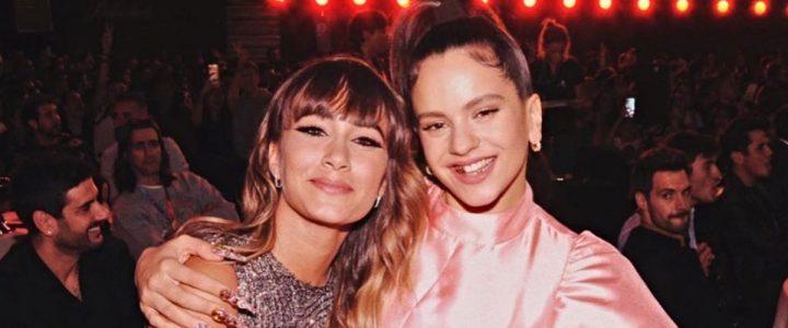 aitana rosalía artistas mensajes twitter tkn