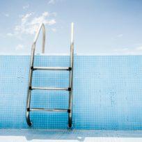 piscina vacía