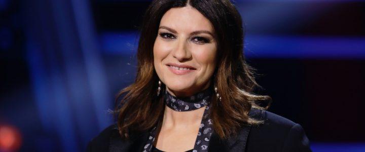 La artista italiana Laura Pausini