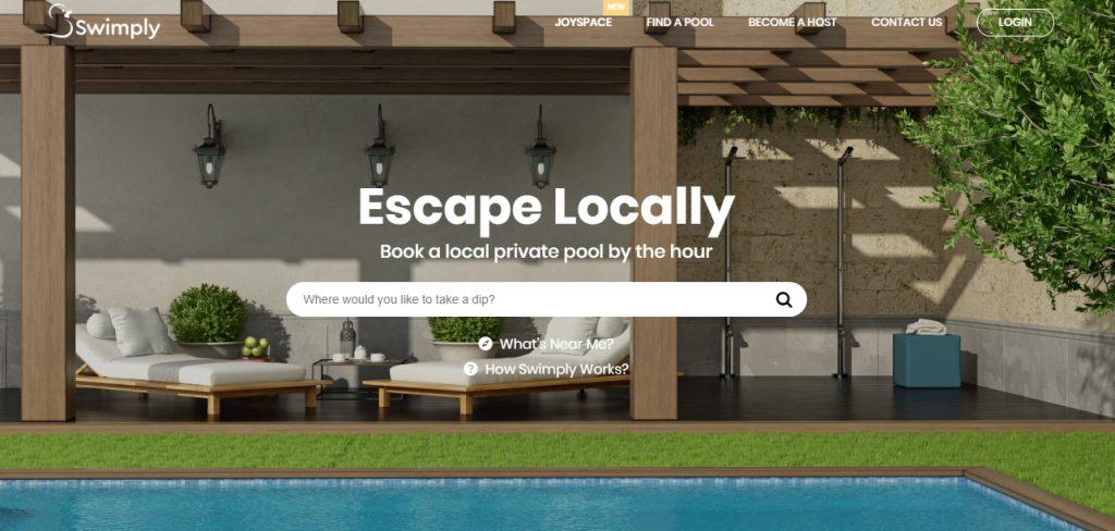 Llega a España una app para reservar piscinas privadas de otros vecinos