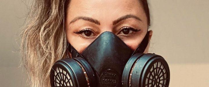 amaia montero artista mascarilla pandemia