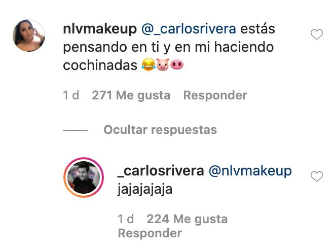 captura de pantalla Carlos Rivera