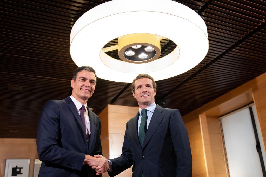 Pedro Sánchez y Pablo Casado, la pareja más votada para un viaje de BlaBlaCar