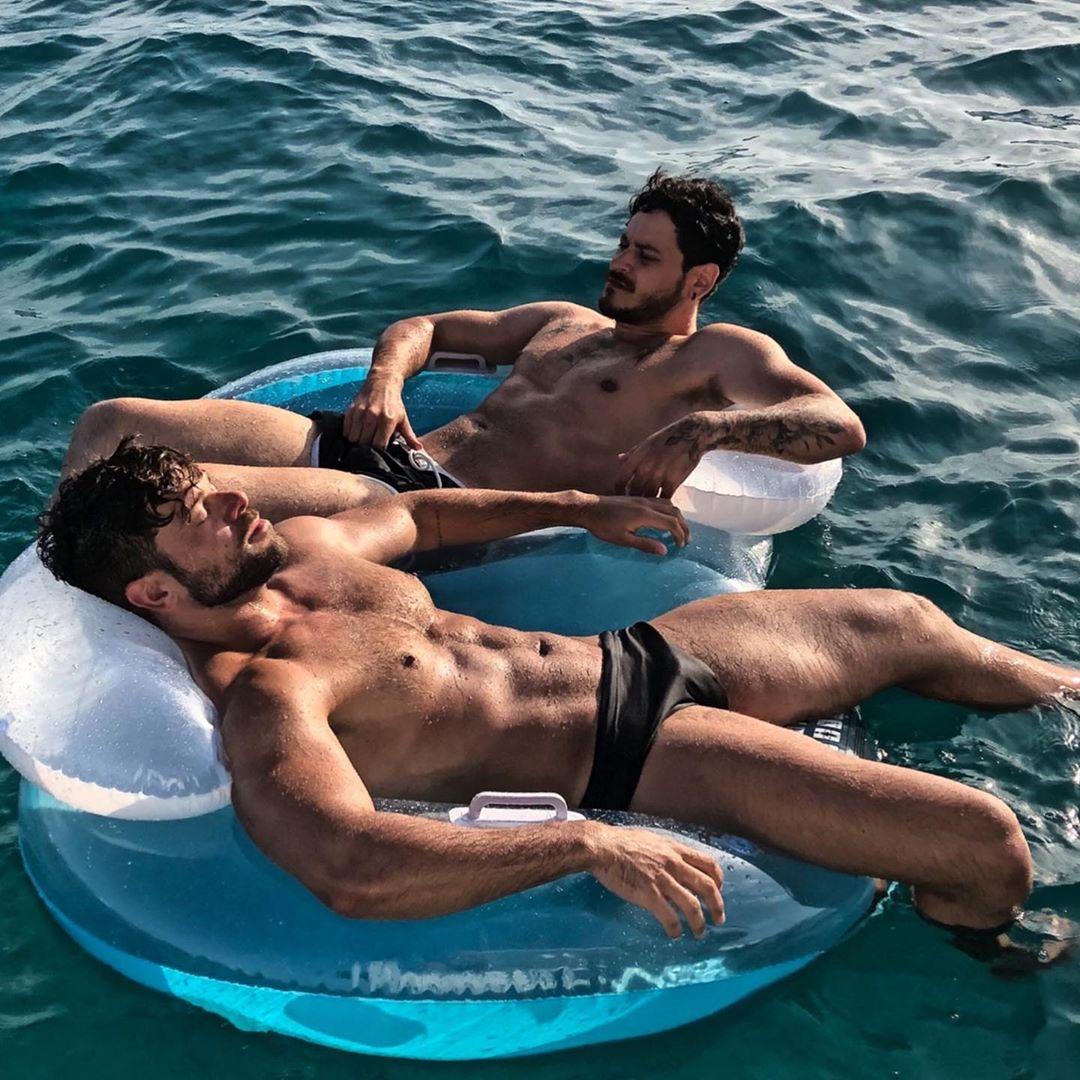 Cepeda y Ricky Merino