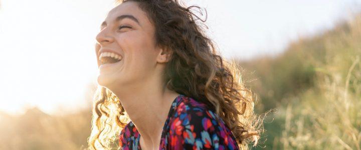 feliz sonrisa