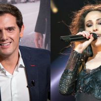 Malú y Albert Rivera collage