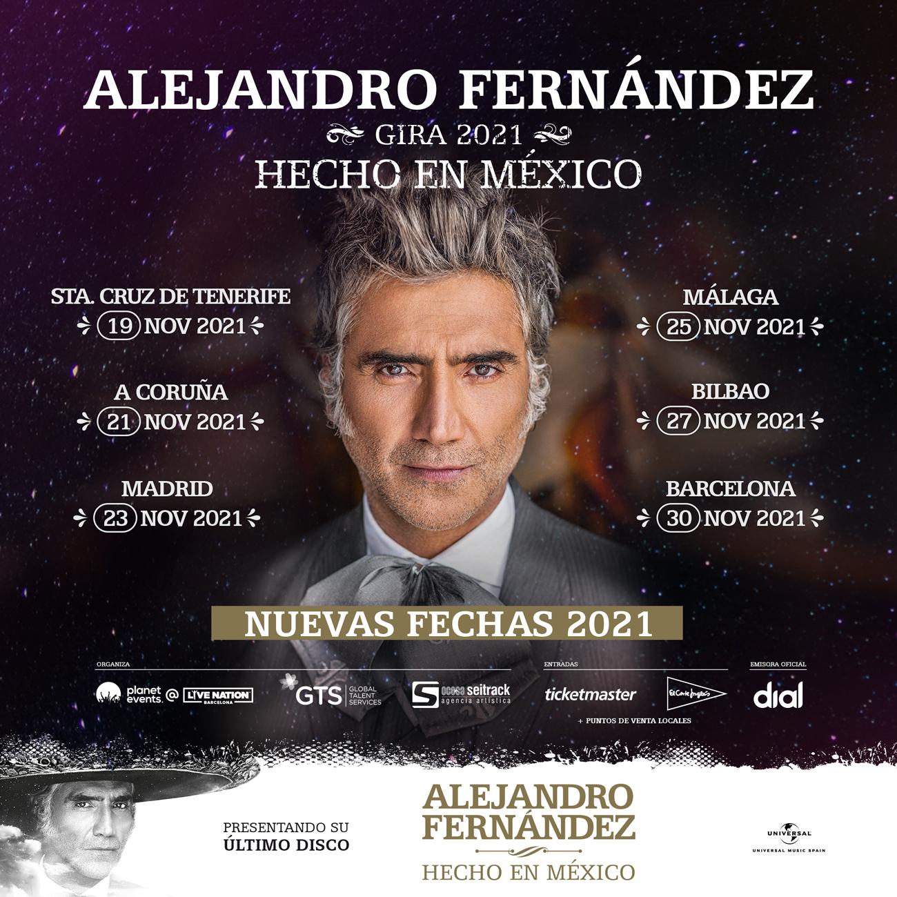 Hecho en México, el último proyecto discográfico de Alejandro Fernández