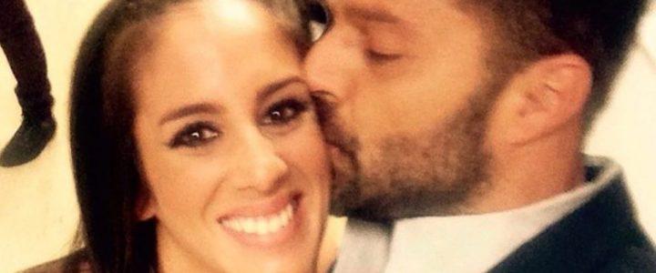 Ricky Martin junto a Anabel Pantoja