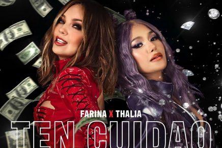 Thalía y Farina cantan Ten Cuidao