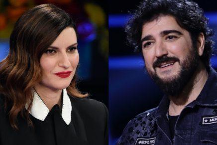 Laura Pausini y Antonio Orozco