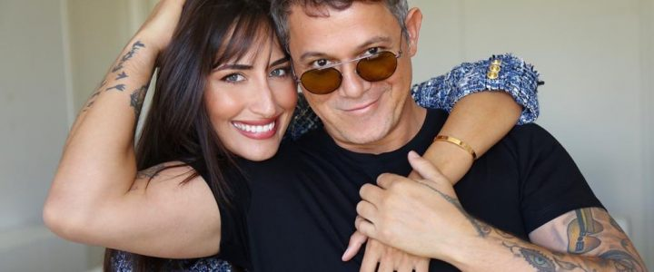 Alejandro Sanz y su chica, Rachel Valdés