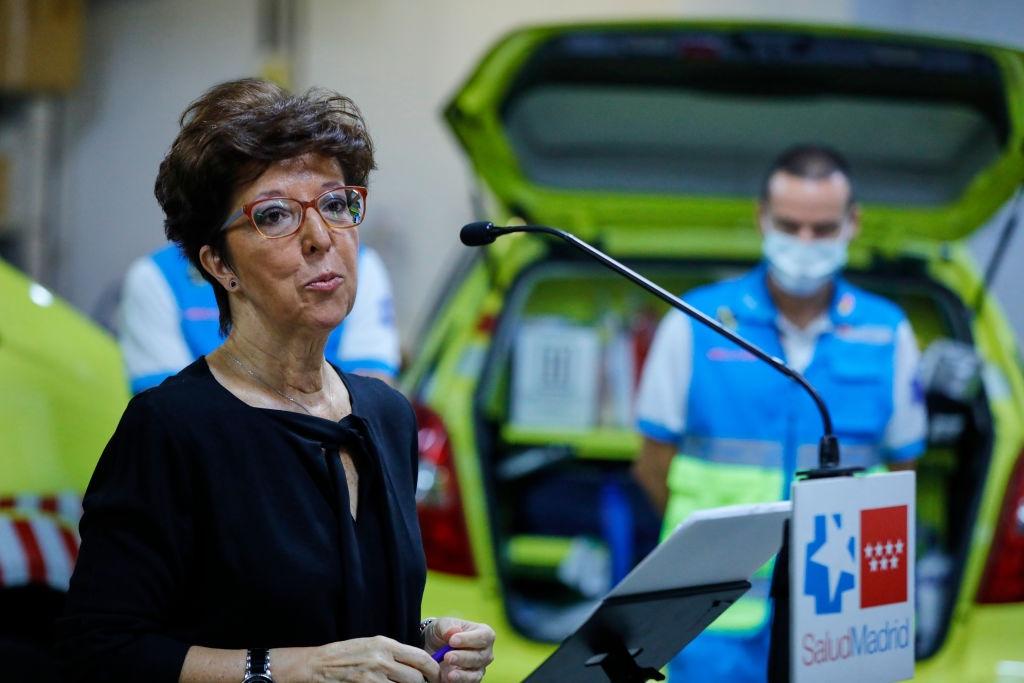 Elena Andradas directora general de SAlud Pública