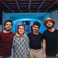 La banda colombiana Morat formada por Juan Pablo Villamil, Juan Pablo Isaza, Martín Vargas y Simón Vargas